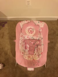 baby's pink and white bouncer Aldie, 20105
