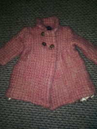 Toddler coat sz 6-12 mos