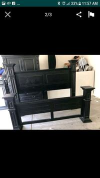 black wooden headboard and footboard Phoenix, 85031