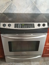 gray and black induction range oven Chestermere, T1X 1S5