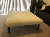 Soft Wool Coffee Table / Ottoman Irving, 75038