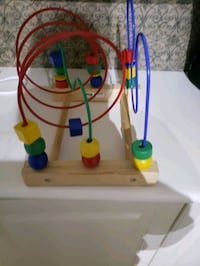 Mint condition solid wood ikea counting toy Vaughan, L6A 2Z1