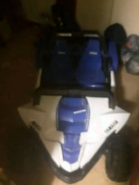 Boys chargeable Yamaha ride in car. Used once..too small . Cost $300