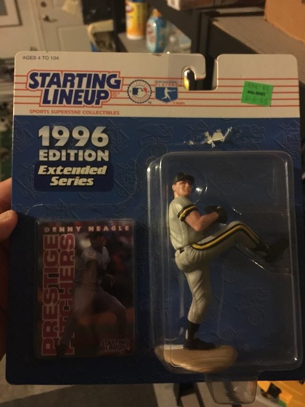 Starting Lineup baseball player action figure