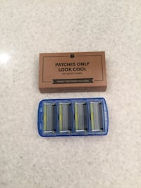 New- Dollar Shave Club - 4 pack of 6-blade razors Calgary, T2E 0H4