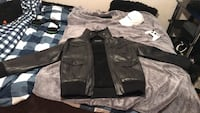 Black Leather Guess Jacket Edmonton, T5P 2Y9