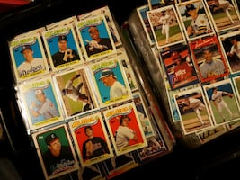 30,000+ mint Baseball Cards in sleeves!