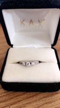 1ct White Gold Engagement Ring (Kay Jewelry) retail $2000 Los Angeles, 90008