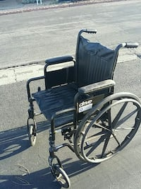 black and gray Drive wheelchair Vista, 92084