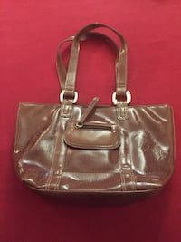 women's brown leather tote bag Mississauga, L5G