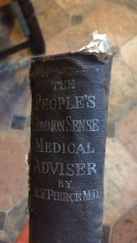 The People's Common Sense Medical Adviser by R.V Pierce M.D book Kingston, 12401
