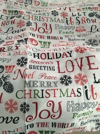 Linen Christmas shower curtain Virginia Beach, 23462