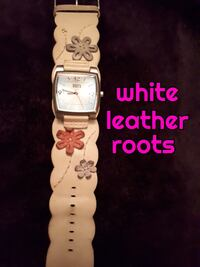 roots leather watch Calgary