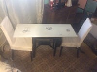 rectangular white wooden table with drawer Surrey, V3R