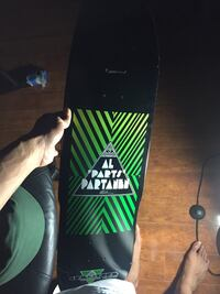 Longboard/skateboard hybrid deck. Only used as decor and never skated with it Orlando, 32826