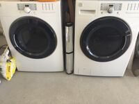 white front-load washer and dryer set Tucson, 85714
