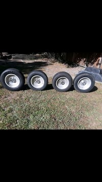 gray bullet hole vehicle wheel and tire set screenshot Petaluma, 94952