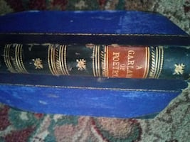 1800's book of poetry