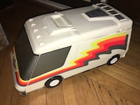 Micro machines van city white with fluorescent stripes - unfolds New York, 10001