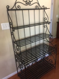 black metal 3-layer rack Ashburn