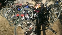 Large lot of bikes and parts
