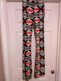 black, white, and red floral pants Bakersfield, 93313