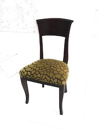 Set of 10 elegant mahogany dining chairs with upholstered seats Pinecrest, 33156