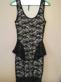 women's black and gray floral sleeveless dress Vaughan, L4H 1H9