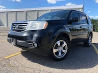 2013 Honda Pilot EX-L/DVD/No Accidents/8Passengers/Leather Int. Toronto
