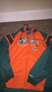 Vintages Dolphins jersey hoodie large Gainesville, 20155