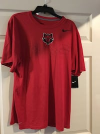 Nike Brand arkansas State red wolves shirt size xl new with tags Cabot, 72023