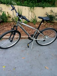 gray and black hardtail mountain bike Gainesville, 32609