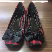 Red and back checkered flats Chatswood, 2067