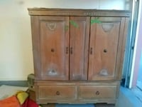 brown wooden cabinet with drawers El Paso, 79936