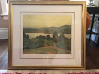 AJ Casson SIGNED and FRAMED LITHOGRAPH with certificate of authenticity #79/300 Toronto, M6K 3B3