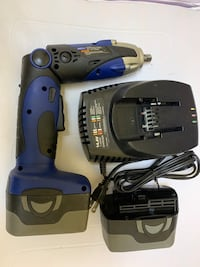 BLUE POINT Impact Wrench 14.4V 2 battery and charge