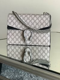 black and white Gucci monogram leather crossbody bag Germantown, 20876