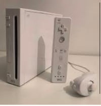 Nitendo Wii with controller and joystick
