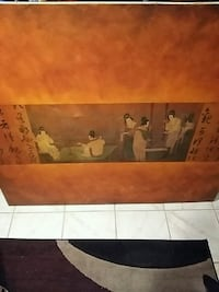 Japanese canvas painting  Toronto, M9N 3C3