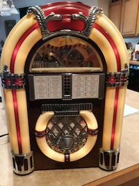 Awesome AM/FM  tape player 1946 jukebox