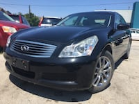 2009 INFINITI G37 Sedan AWD Luxury Clean Carfax Service Record Burlington