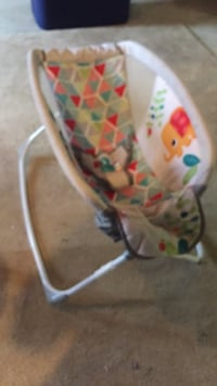 Jungle Baby rocker by bright stars Boston