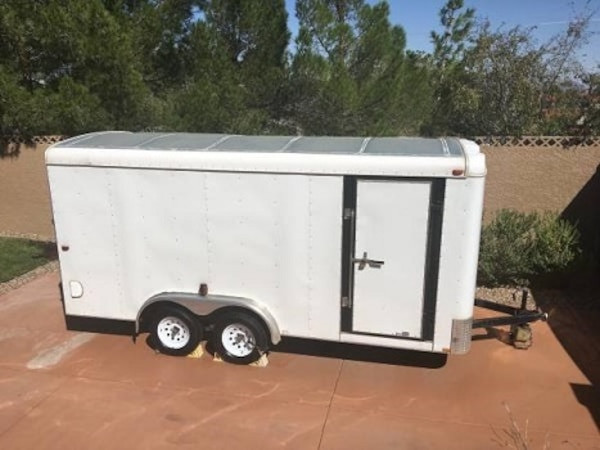 Trailer 2004 Loadrunner White 16 X 7 Loadrunner