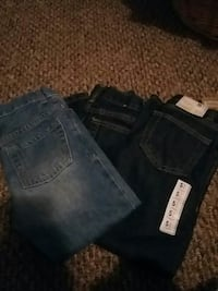 3 pairs boys size 5 jeans
