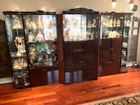 large lighted wall/display unit CAPITOLHEIGHTS