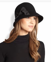 NEW with tags, Kate Spade black hat 2 km