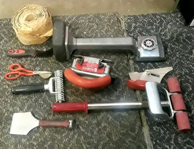 Sold Roberts Brand Carpet Flooring Tools In Jenks Letgo