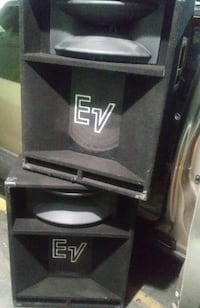 ELECTROVOICE SPEAKERS