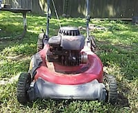 red and black push mower Evansville, 47710