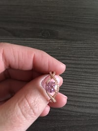 Pink charmed aroma ring